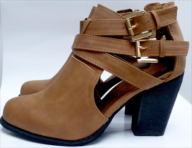 Tan Buckle Autumn Winter Ankle Boots from New Look