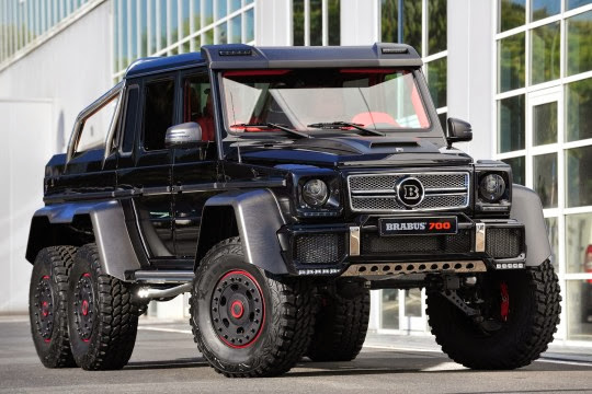 mercedes g 63 amg 6x6 le 6 roues commercialis autonews8. Black Bedroom Furniture Sets. Home Design Ideas
