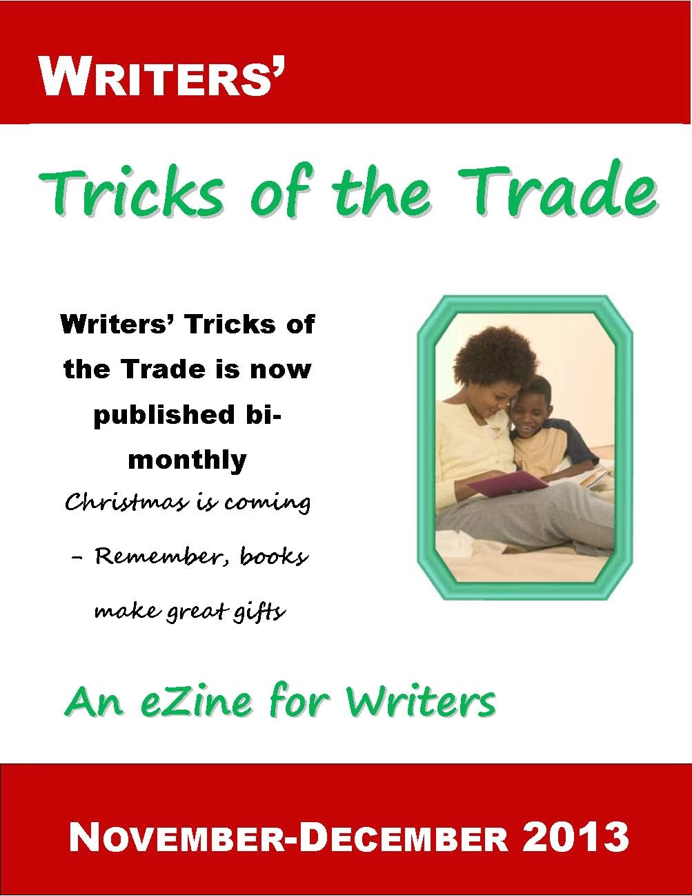 NOV-DEC 2013 Writers Tricks of the Trade