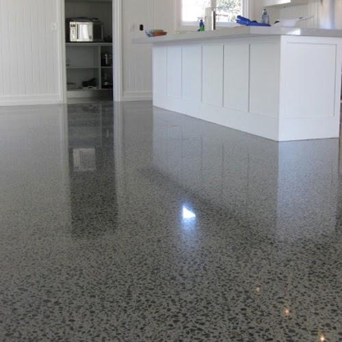 Betonnen vloer keuken - Badkamer was beton prijs ...