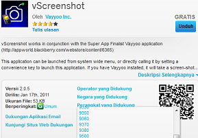 Cara Screenshot HP BlackBerry Curve 9350, 9360 dan 9370