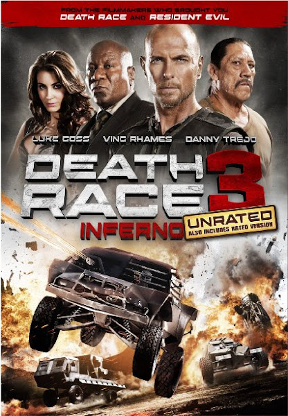 Poster of Death Race: Inferno 2013 UnRated 720p BluRay Dual Audio
