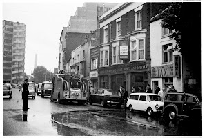 Accident at the bottom of Commercial Road 1965