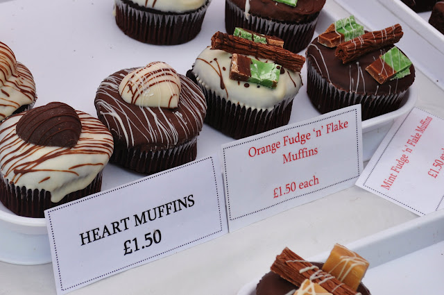 Muffins at Yorkshire Market