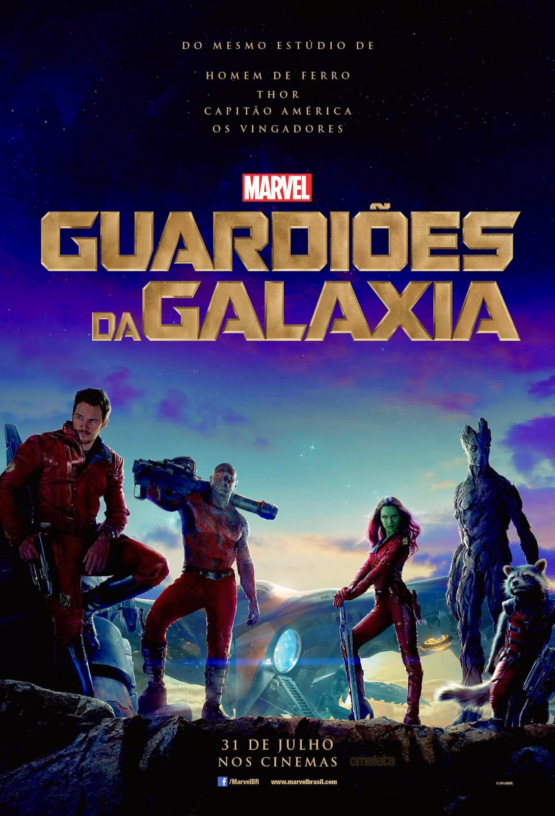 Guardioes da Galaxia torrent Guardiões da Galáxia Torrent   Dublado (2014)