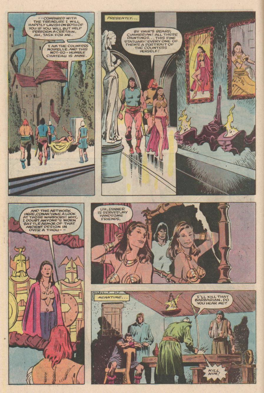 Conan the Barbarian (1970) Issue #167 #179 - English 5