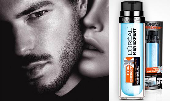 hidratante para pieles con barba Hydra Energetic de L'Oreal Men Expert