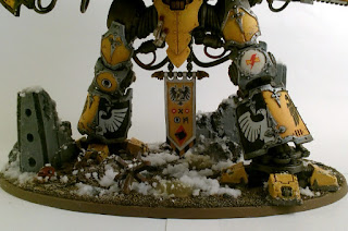 40k Imperial Knight Errant - Base & Legs