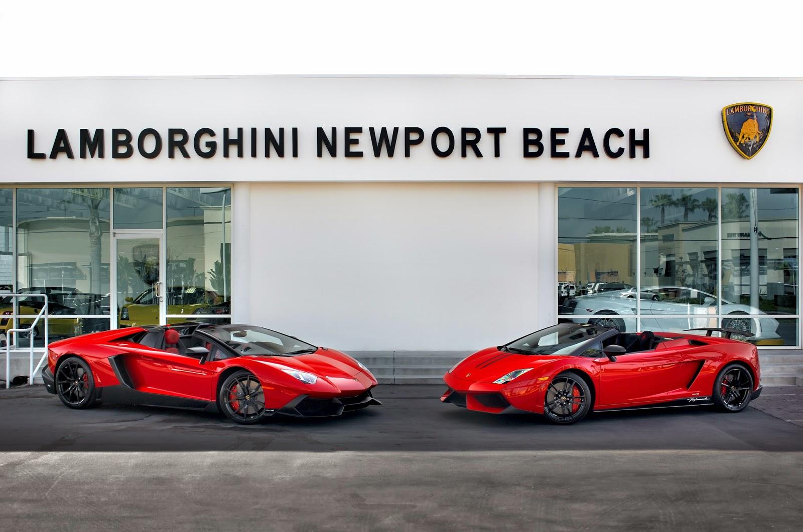 Lamborghini Newport Beach Blog Aventador Lp 720 4 Roadster 50th