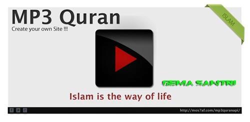 Aplikasi MP3 Al-Quran untuk Android