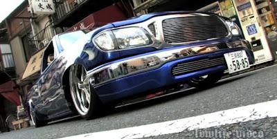 Carros super rebaixados estilo Lowlife