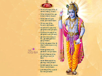 Promise of Lord Krishna to human