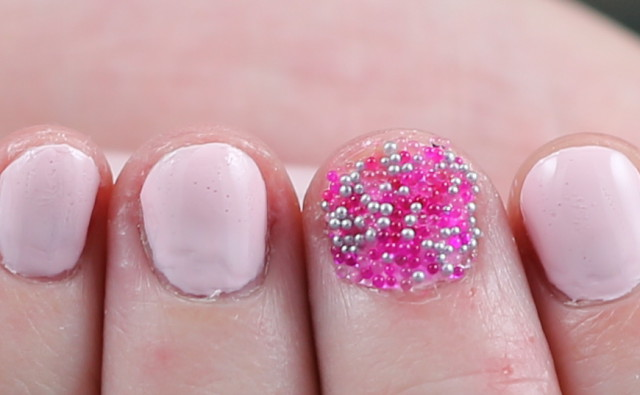 Avon sprinkle nails nail decorations with swatches for Avon nail decoration tool