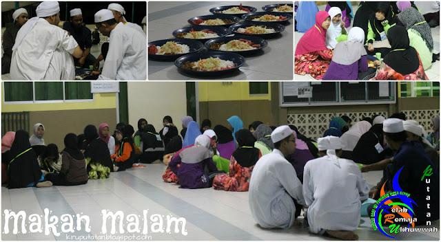 Makan Ikut Sunnah Nabi berkongsi dan berjema'ah makan