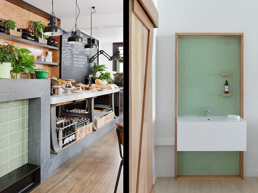 la fabrique d co une d co en couleurs du vert dans la maison. Black Bedroom Furniture Sets. Home Design Ideas