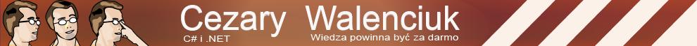 Cezary Walenciuk  .NET, Java