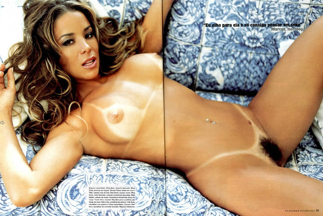 Brazilian Actress Who Has Posed Twice For Playboy Magazine In Brazil