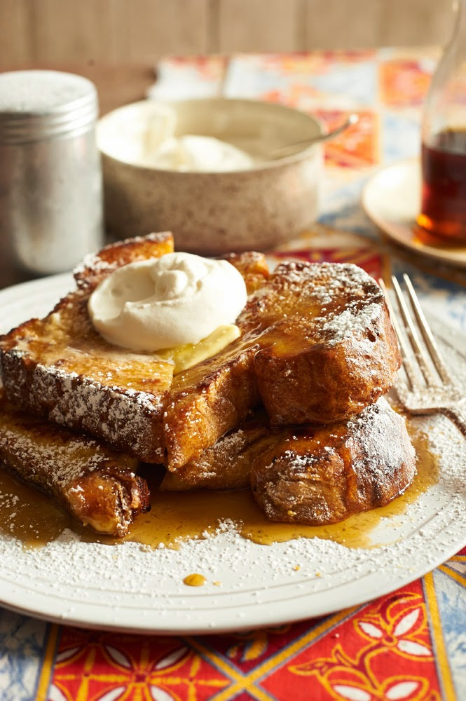 food with a comfort breakfast : this decadent eggnog French toast ...