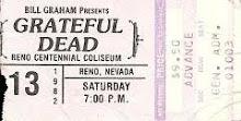 Grateful Dead Reno Centennial Coliseum 3-13-1982