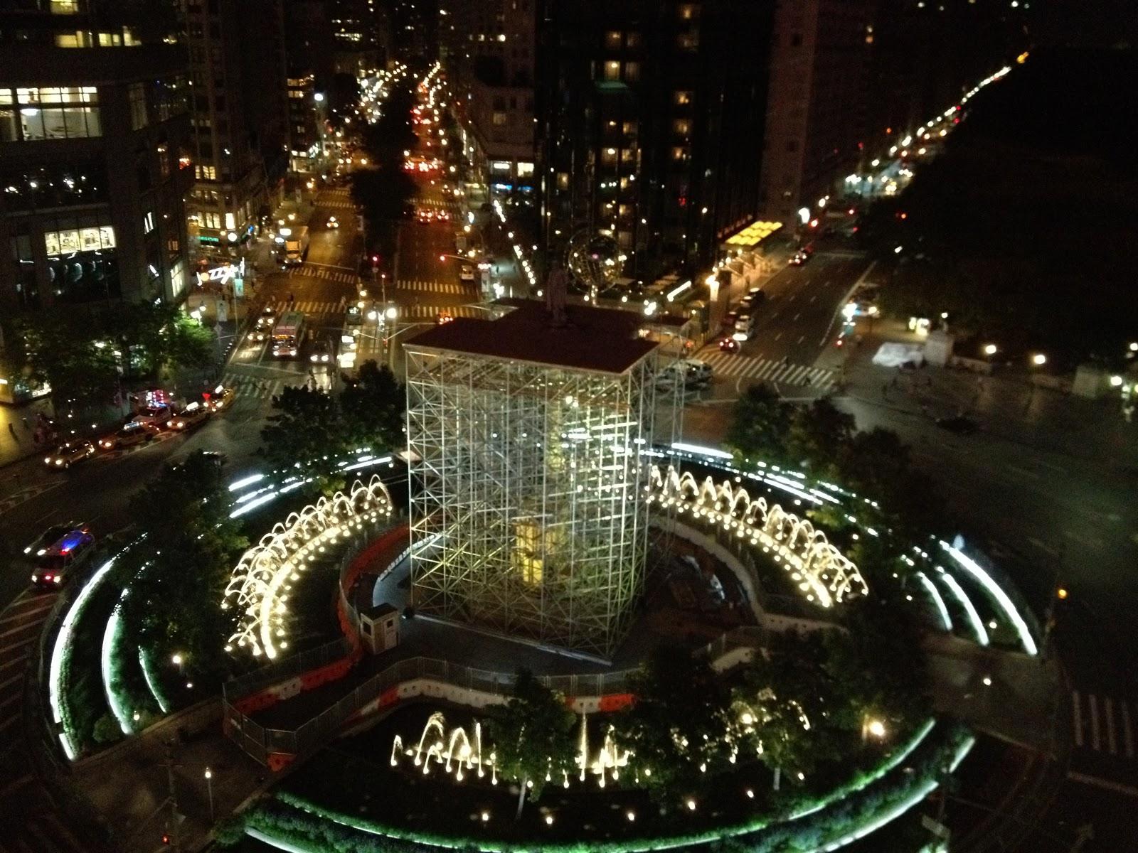 New york vista dall 39 alto note di vita for New york dall alto