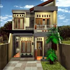 contoh desain rumah minimalis unik
