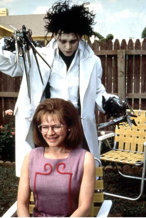 Kathy Baker Edward Scissorhands Scene One of my favorite scenes is