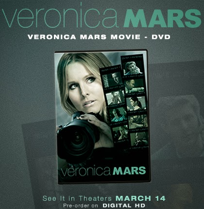 Enter to win the Veronica Mars DVD Giveaway. Ends 3/29.