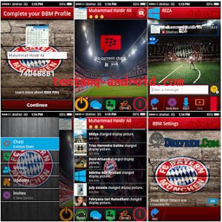 BBM MOD Theme Bayern Munchen Fc Latest Apk