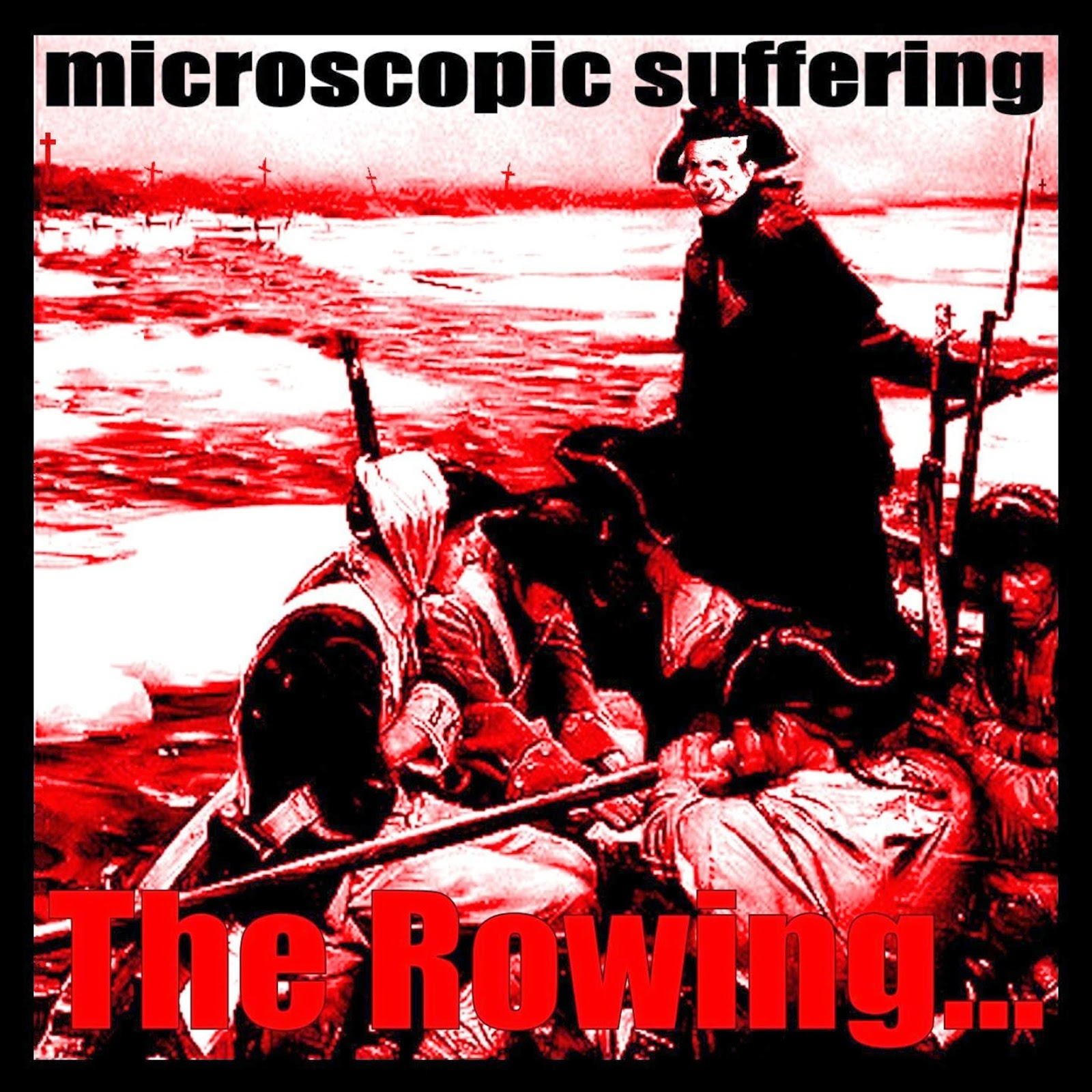 get Microscopic Suffering - The Rowing at Pent Up Release