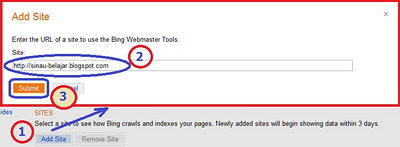 Cara Submit Blog Ke Bing Webmaster