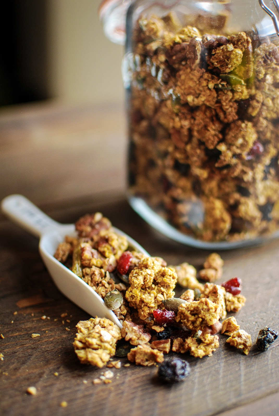 granola recipe, coconut oil
