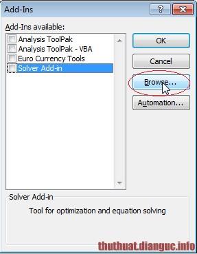 phần mềm đổi số thành chữ trong excel 2007