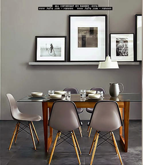 Contemporary dining room sets ideas and furniture 2015 - Dining set small space ideas ...