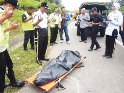 Kemalangan maut di Malaysia berlaku hampir setiap hari.