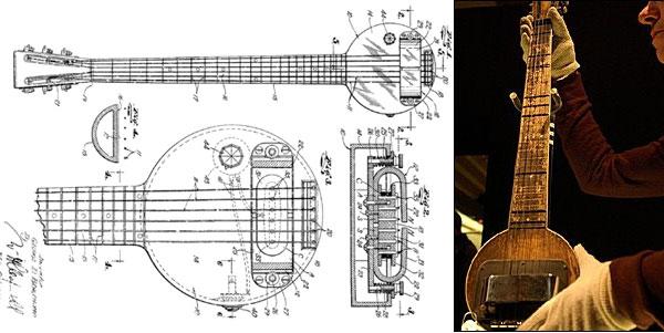 Resultado de imagen para primera guitarra electrica