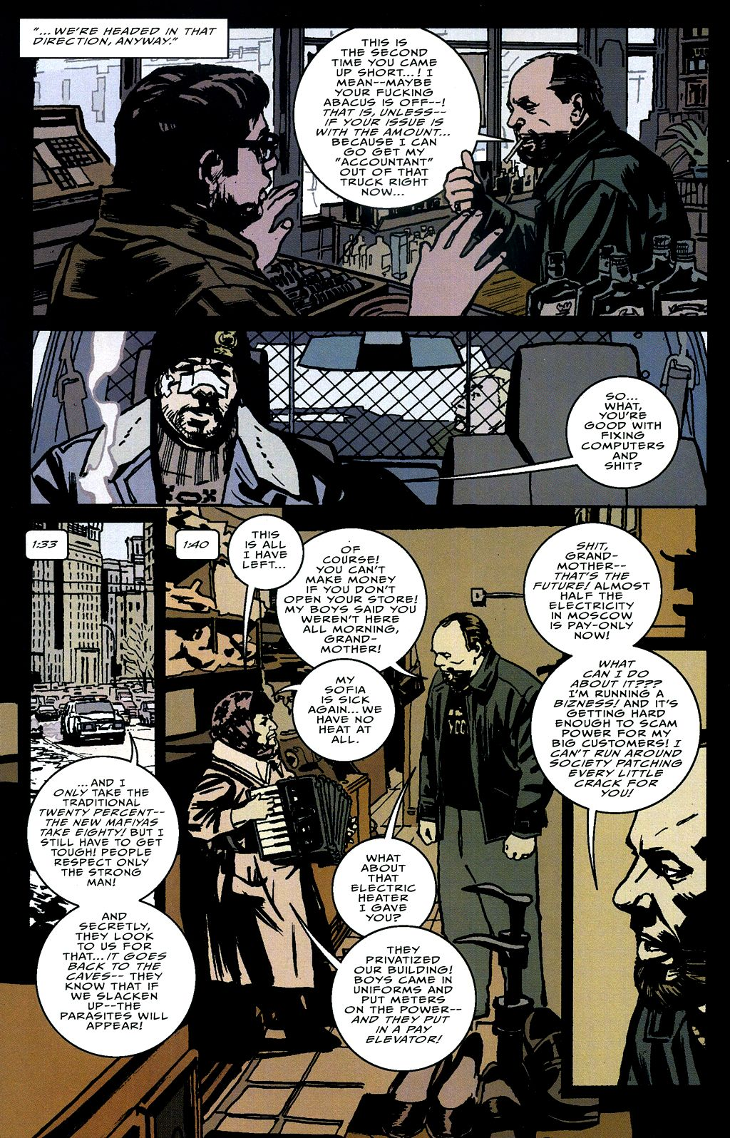 Read online The Winter Men comic -  Issue #4 - 11