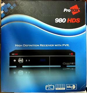 ATUALIZAÇÃO RECEPTOR PROBOX 980HDS v.117 25/03/2012