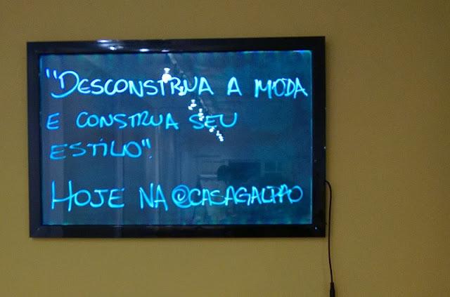 """Workshop """"Desconstrua a moda e construa seu estilo"""" com Ana Soares e Alyce Takai  (SP - 19/07/15)"""