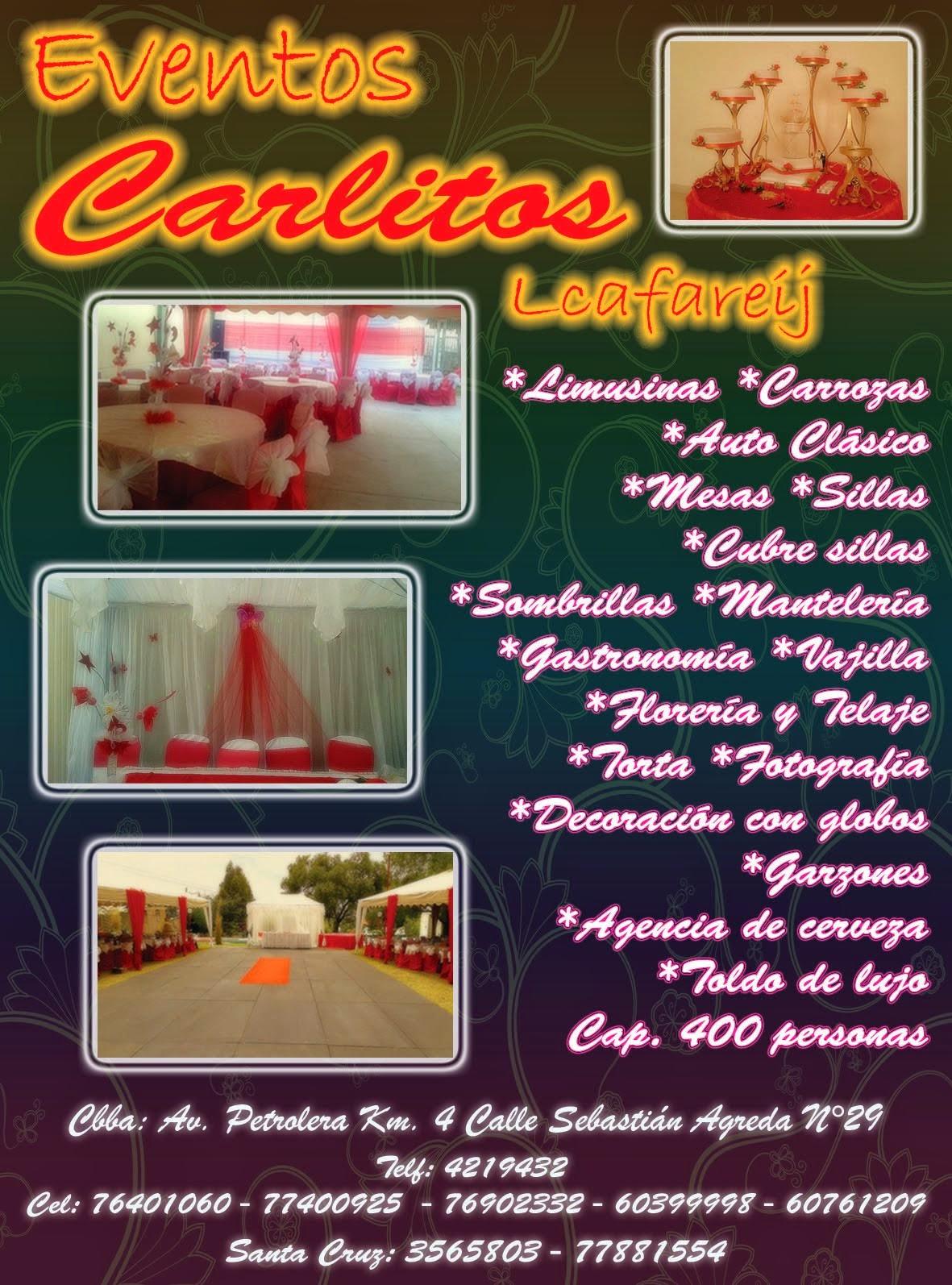 """Eventos """"Carlitos"""""""