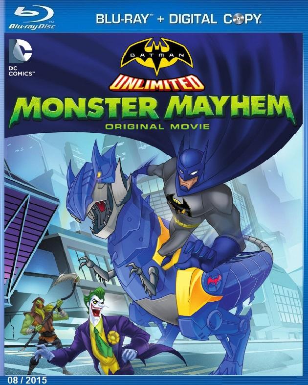 BATMAN UNLIMITED MONSTER MAYHEM (2015) แบทแมน ถล่มจอมวายร้ายป่วนเมือง [MASTER] [1080P] [เสียงไทยมาสเตอร์ 5.1]