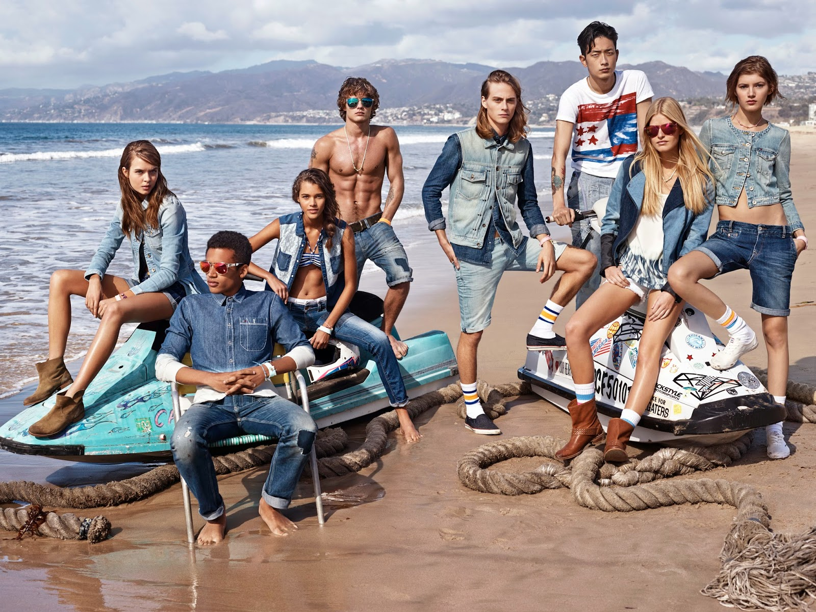 True to the Blue, Hilfiger Denim, Tommy Hilfiger, jeans, denim, preppy, spring 2014, primavera, be divinity,