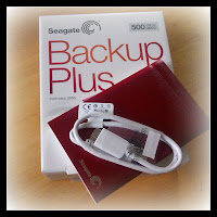 seagate backup plus, 500GB, Geekalicious, 