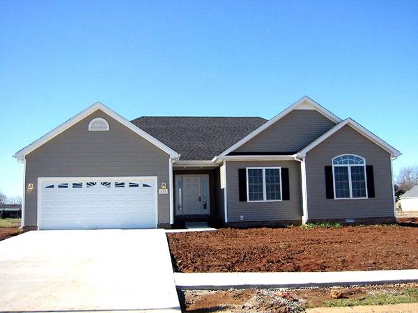 Planos de casa de madera 3 recamaras 2 ba os garaje Planos de casas 2 recamaras