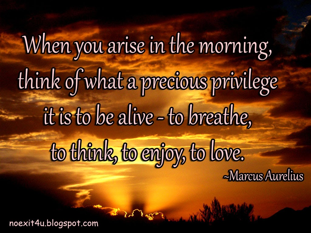 Good Morning Quotes Notes : When you arise