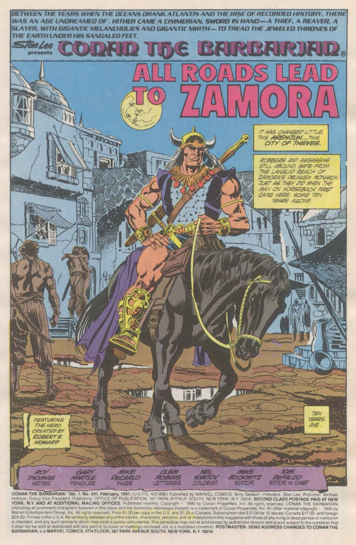 Conan the Barbarian (1970) Issue #241 #253 - English 2