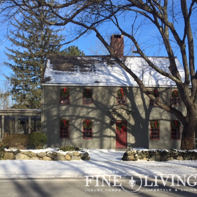 New England Fine Living New England Style Homes In