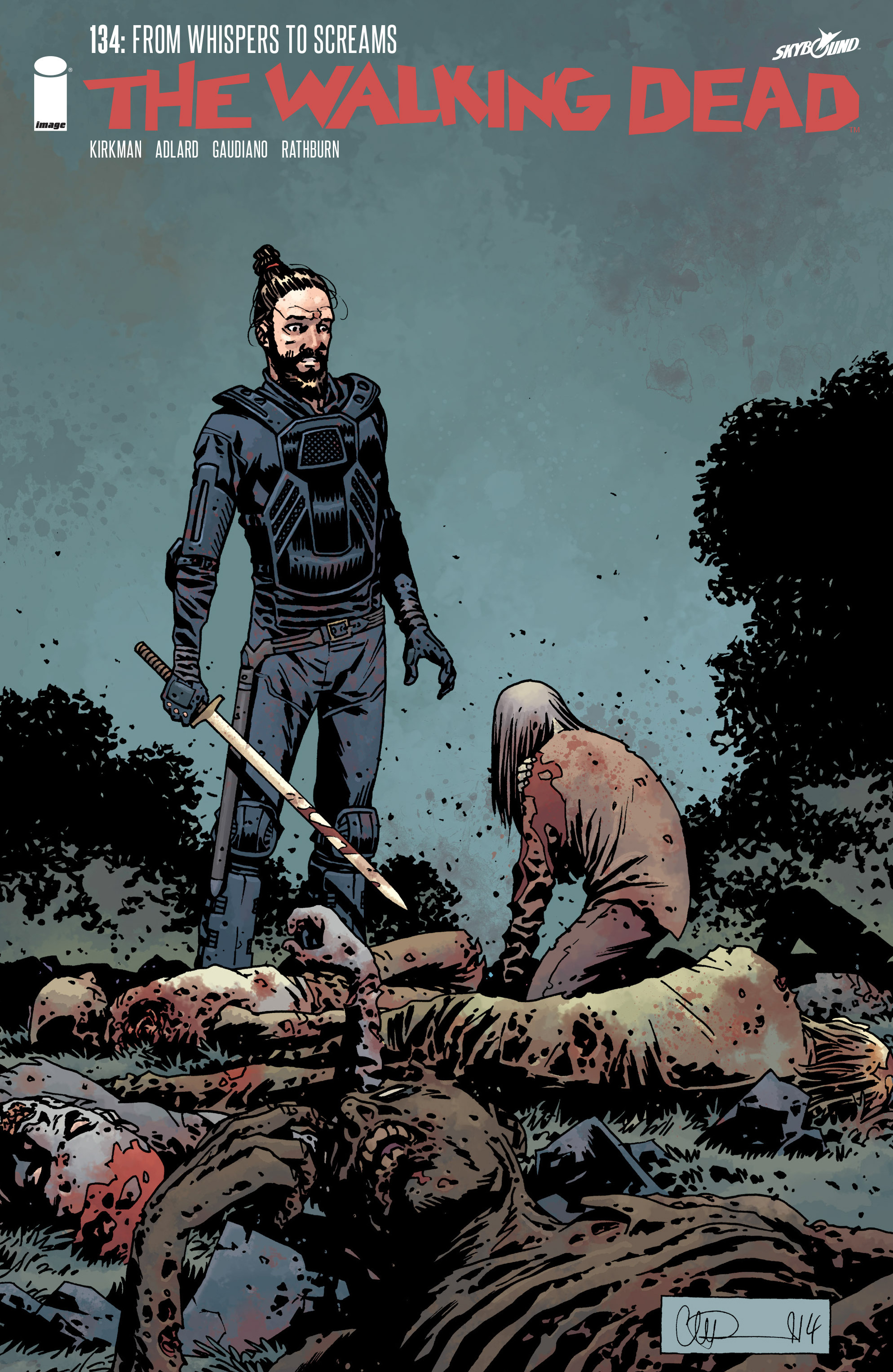 The Walking Dead 134 Page 1