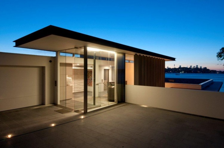Architecture corner amazing home b house rose bay by B house