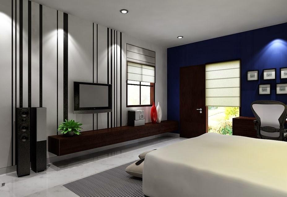 Desain kamar tidur mewah