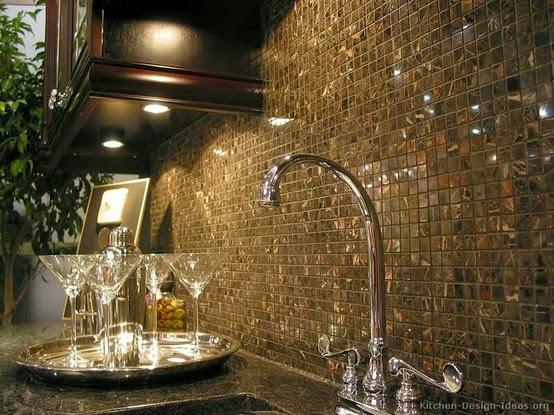 Construindo minha casa clean pedras decorativas - Ladrillo de cristal ...